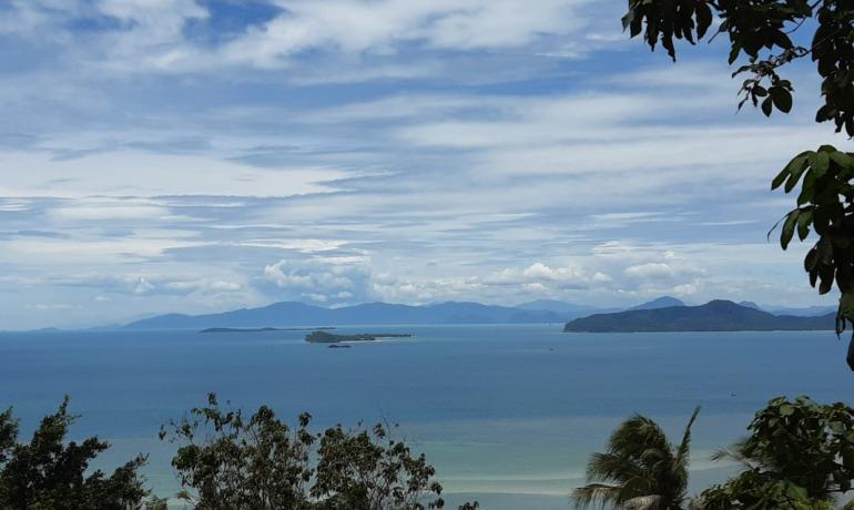 Magnificent Sea View Land Plot in Laem Set