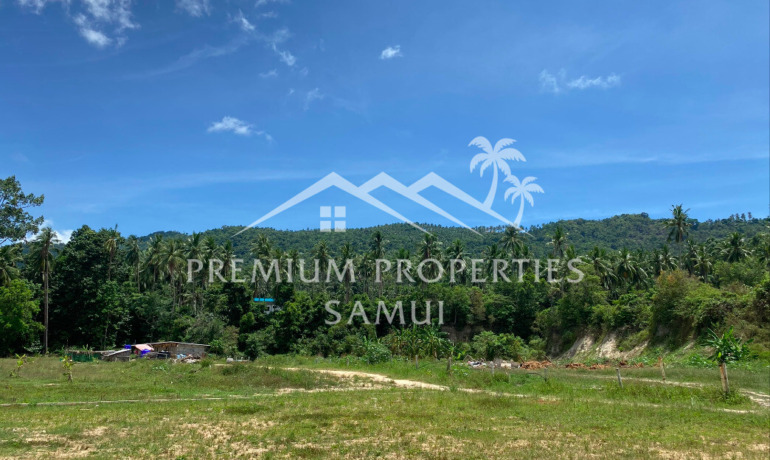 Affordable Land Plot in Shortcut of Lamai