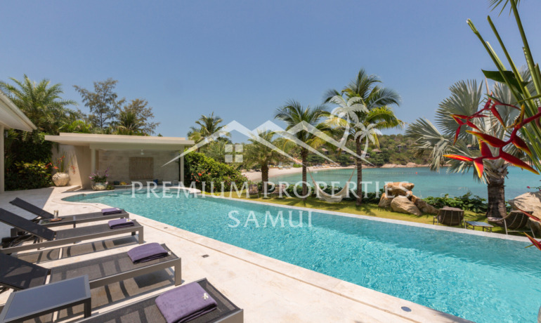 Luxury 6 Bedroom Beachfront Villa in Plai Laem