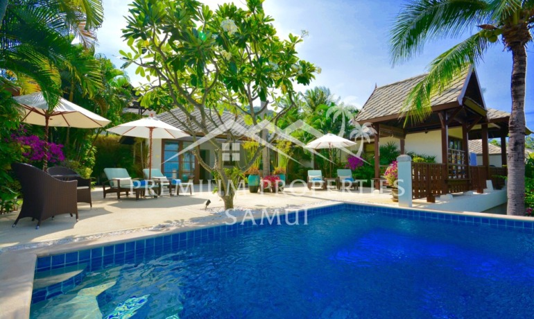 Villa Bord de Mer 3 Chambres & Piscine à Choeng Mon