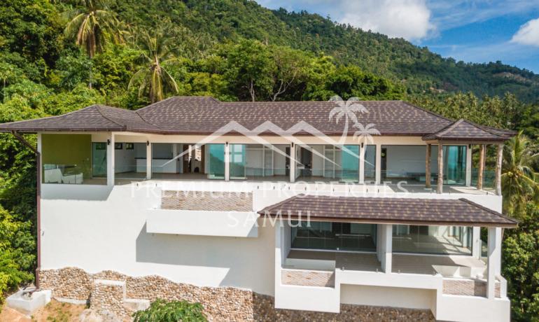 Superbe Villa 5 Chambres Avec Piscine Vue Mer à Lamai